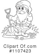 Royalty-Free (RF) Dwarf Clipart Illustration #1107423