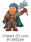 Royalty-Free (RF) Dwarf Clipart Illustration #1385234