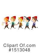Dwarf Clipart #1513048 by BNP Design Studio