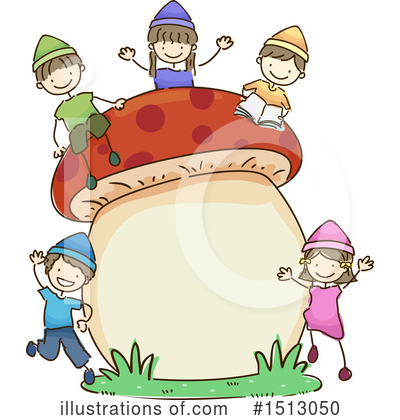 Mushroom Clipart #1513050 by BNP Design Studio