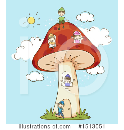 Mushroom Clipart #1513051 by BNP Design Studio