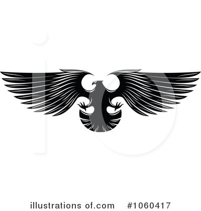 Eagle Clipart #1060417 by Vector Tradition SM
