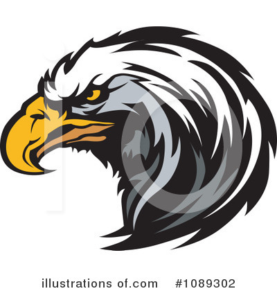 Bald Eagle Clipart #1089302 by Chromaco
