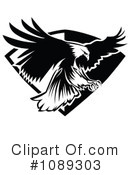 Royalty-Free (RF) Eagle Clipart Illustration #1089303