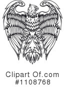 Royalty-Free (RF) Eagle Clipart Illustration #1108768