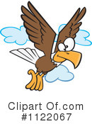 Royalty-Free (RF) Eagle Clipart Illustration #1122067