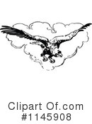 Royalty-Free (RF) Eagle Clipart Illustration #1145908