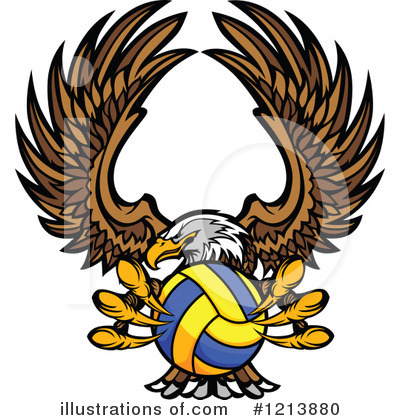 Bald Eagle Clipart #1213880 by Chromaco