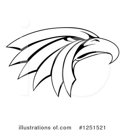 Bald Eagle Clipart #1251521 by AtStockIllustration