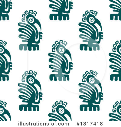 Aztec Clipart #1317418 by Vector Tradition SM