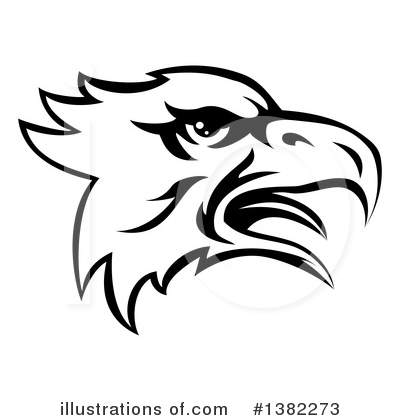Bald Eagle Clipart #1382273 by AtStockIllustration
