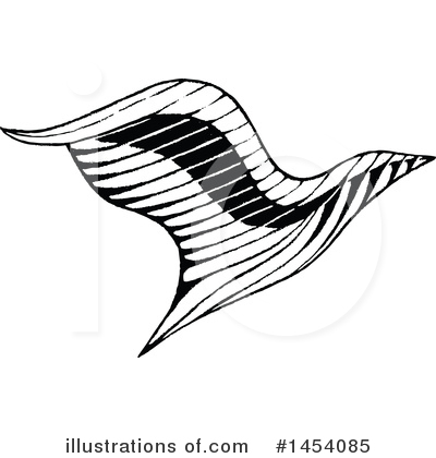 Royalty-Free (RF) Eagle Clipart Illustration by cidepix - Stock Sample #1454085