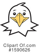 Eagle Clipart #1590626 by Johnny Sajem
