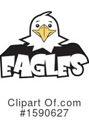 Eagle Clipart #1590627 by Johnny Sajem