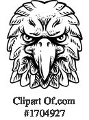 Eagle Clipart #1704927 by AtStockIllustration