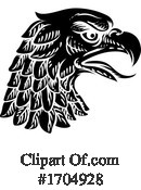 Eagle Clipart #1704928 by AtStockIllustration