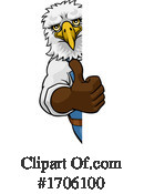 Eagle Clipart #1706100 by AtStockIllustration