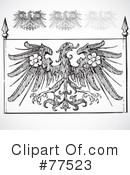 Royalty-Free (RF) Eagle Clipart Illustration #77523