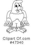 Eagle Mascot Clipart #47340 by Toons4Biz