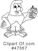 Eagle Mascot Clipart #47367 by Toons4Biz