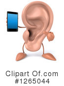 Ear Character Clipart #1265044 by Julos