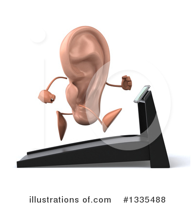 Ear Character Clipart #1335488 by Julos