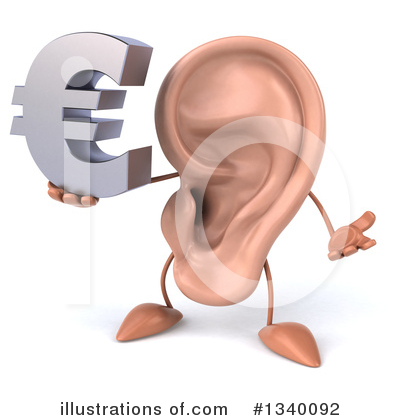 Ear Character Clipart #1340092 by Julos