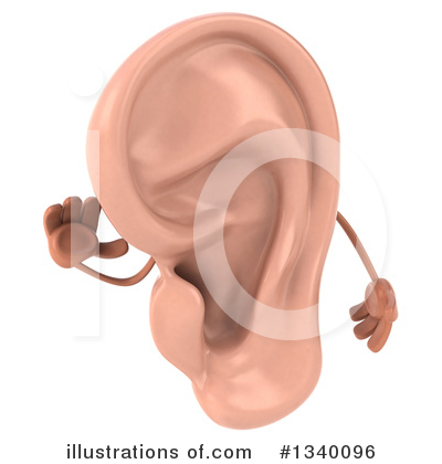 Ear Character Clipart #1340096 by Julos