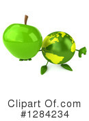 Earth Character Clipart #1284234 by Julos