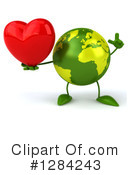 Earth Character Clipart #1284243 by Julos
