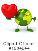 Earth Character Clipart #1284244 by Julos
