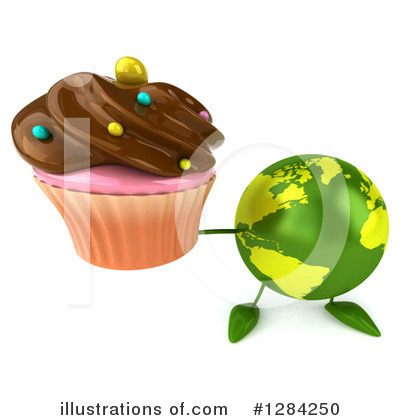 Royalty-Free (RF) Earth Character Clipart Illustration by Julos - Stock Sample #1284250