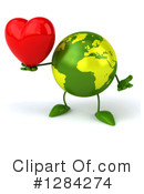 Earth Character Clipart #1284274 by Julos