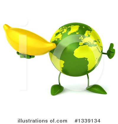 Earth Mascot Clipart #1339134 by Julos