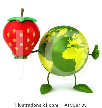 Earth Mascot Clipart #1339135 by Julos