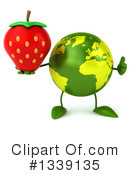 Royalty-Free (RF) Earth Character Clipart Illustration #1339135