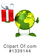 Royalty-Free (RF) Earth Character Clipart Illustration #1339144