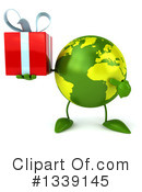 Royalty-Free (RF) Earth Character Clipart Illustration #1339145