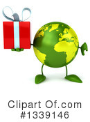 Royalty-Free (RF) Earth Character Clipart Illustration #1339146