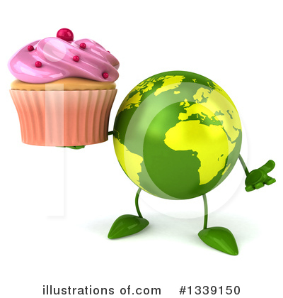 Earth Mascot Clipart #1339150 by Julos
