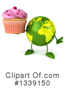 Royalty-Free (RF) Earth Character Clipart Illustration #1339150