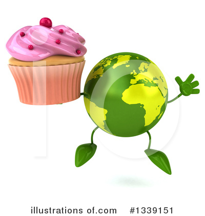 Earth Mascot Clipart #1339151 by Julos