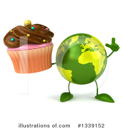 Earth Mascot Clipart #1339152 by Julos