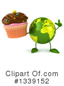 Royalty-Free (RF) Earth Character Clipart Illustration #1339152
