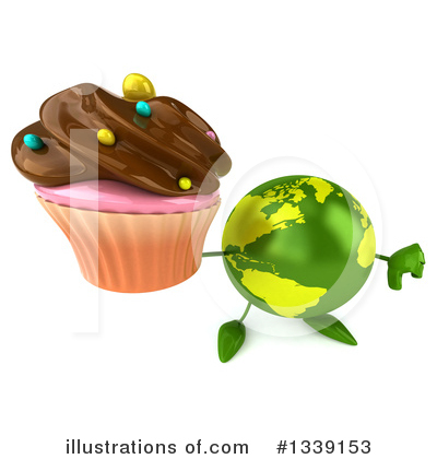 Earth Mascot Clipart #1339153 by Julos