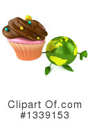 Royalty-Free (RF) Earth Character Clipart Illustration #1339153