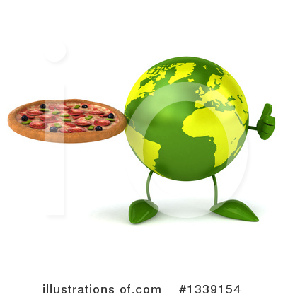 Earth Mascot Clipart #1339154 by Julos