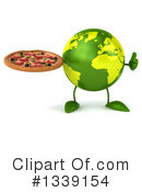 Royalty-Free (RF) Earth Character Clipart Illustration #1339154