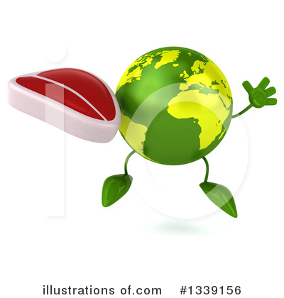 Earth Mascot Clipart #1339156 by Julos