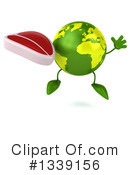 Royalty-Free (RF) Earth Character Clipart Illustration #1339156